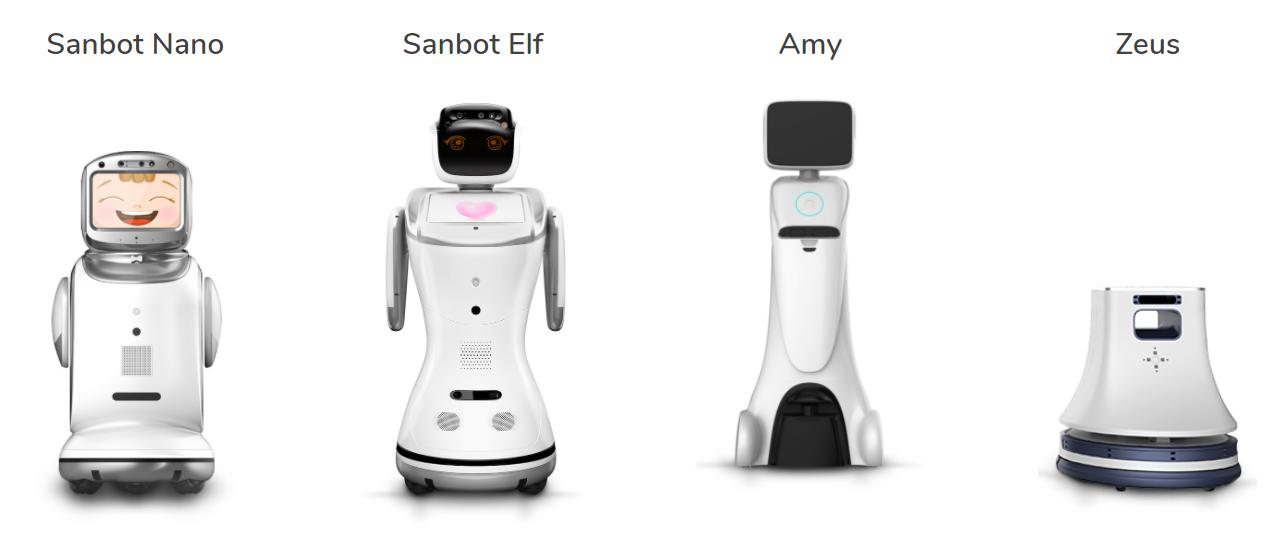 Omitech - robots